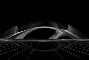 Introducing Striatus - the first of its kind 3D concrete printed arched bridge