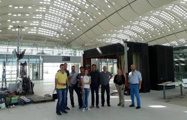Perforated Ductal® roof bathes travellers in Mediterranean sunshine in new Montpellier TGV high-speed train station