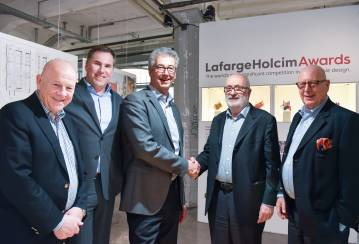 Changes at the LafargeHolcim Foundation Board; announcement of Global Awards Winners