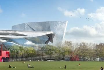 LafargeHolcim concrete for the new Philharmonie de Paris building