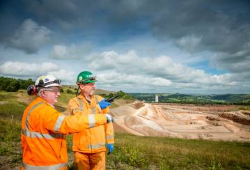 Investors visit UK super-quarry on Capital Markets Day - and you can too on our virtual tour