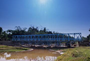Helping locals find safe crossing with new bridge