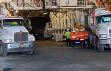 Concrete linking Brisbane to the airport with Australia's longest road tunnel