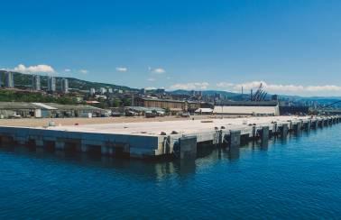Doubling the port capacity of historic Rijeka