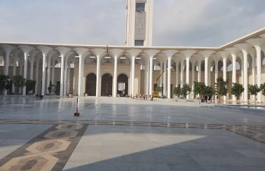 Ductal® the highest performing concrete for Africa's largest mosque, Great Mosque of Algeria