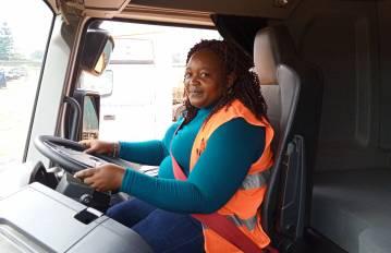 Women on wheels in Uganda