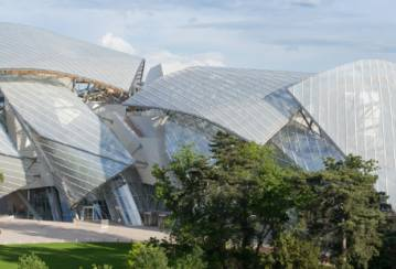 Ductal® concrete embellishes the Fondation Louis Vuitton in the heart of Paris