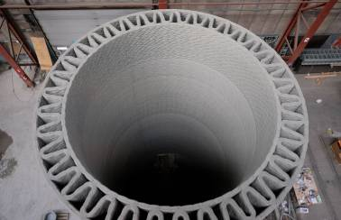 GE Renewable Energy, COBOD and LafargeHolcim co-develop record-tall wind turbine towers with 3D-printed concrete bases