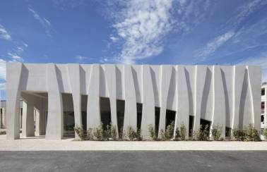 "LafargeHolcim helps sculpt a ""tectonic"" façade with Agilia® concrete!"