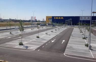 Parking lot, Spain