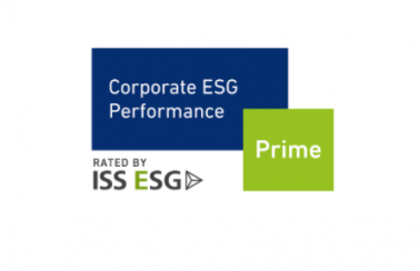 "ISS Corporate ESG performance; ""Prime"" status"