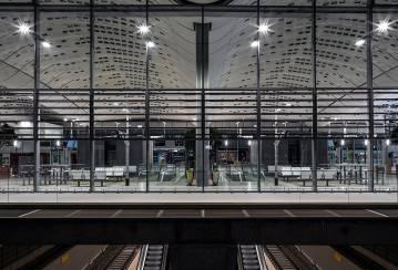 Montpellier train station, France