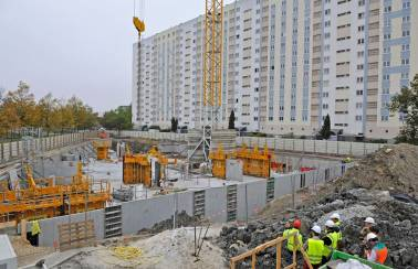 Bordeaux housing project in France