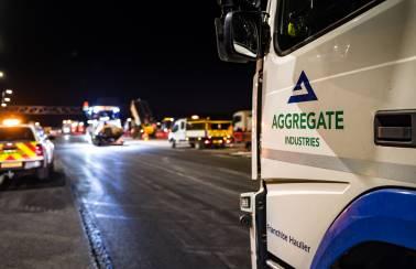 Driving smart road construction