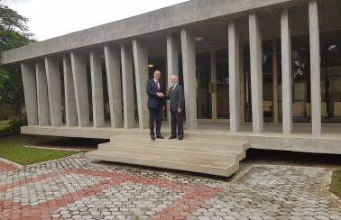LafargeHolcim Côte d'Ivoire delivers green cement solutions for new Swiss embassy