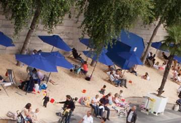 Sand, sun & sustainability: summertime fun for annual Paris Plages beach event