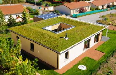 Energy positive home in France