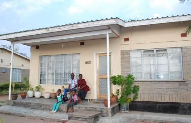 Individual home in Malawi
