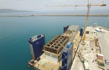 A herculean task: rebuilding Santorini's port