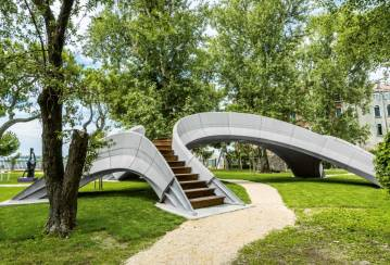 Striatus unveiled: the first-of-its-kind 3D Concrete Printed bridge