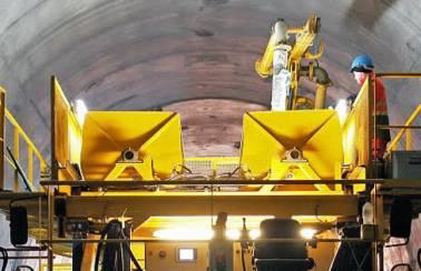 The Gotthard Base Tunnel: LafargeHolcim solutions for the world's longest railway tunnel