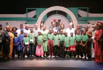 Lafarge National Literacy Competition helps children in Nigeria open a new chapter in their lives