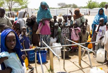 Lebanon & Nigeria - financial support for water, sanitation and construction saves hundreds of thousands of lives
