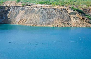 acc refurbished mine reservoir