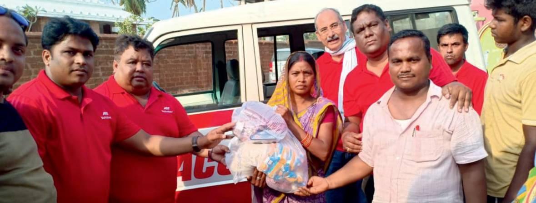 acc supports cyclone struck odisha picture 4