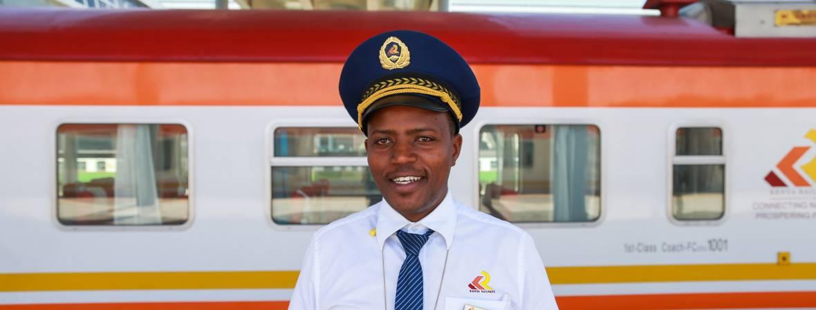 kenya trains man
